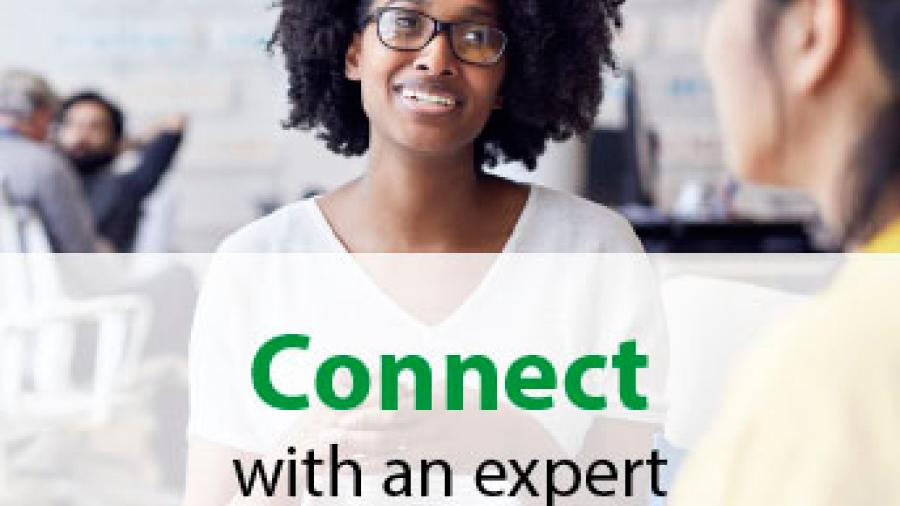 Connect with an expert