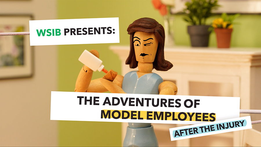 The Adventures of Model Employees After the Injury