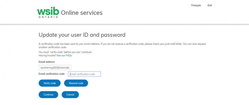 Online services update your user ID image